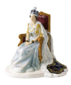 Queen Elizabeth II Diamond Jubilee - Royal Doulton Figurine