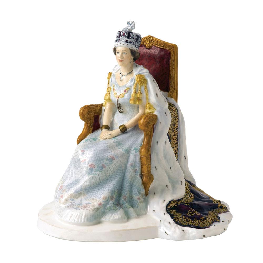Queen Elizabeth II Diamond Jubilee - Royal Doulton Figurine