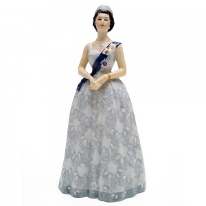 Queen Elizabeth II HN2502 - Royal Doulton Figurine