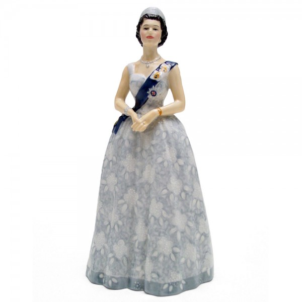 Queen Elizabeth II HN2502 - Royal Doulton Figurine