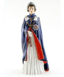 Queen Elizabeth II HN2878 - Royal Doulton Figurine