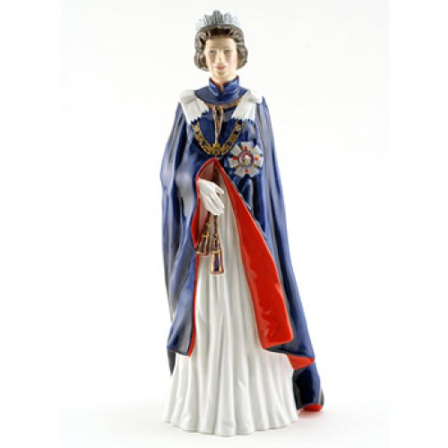 Queen Elizabeth II HN2878 - Royal Doulton Figurine