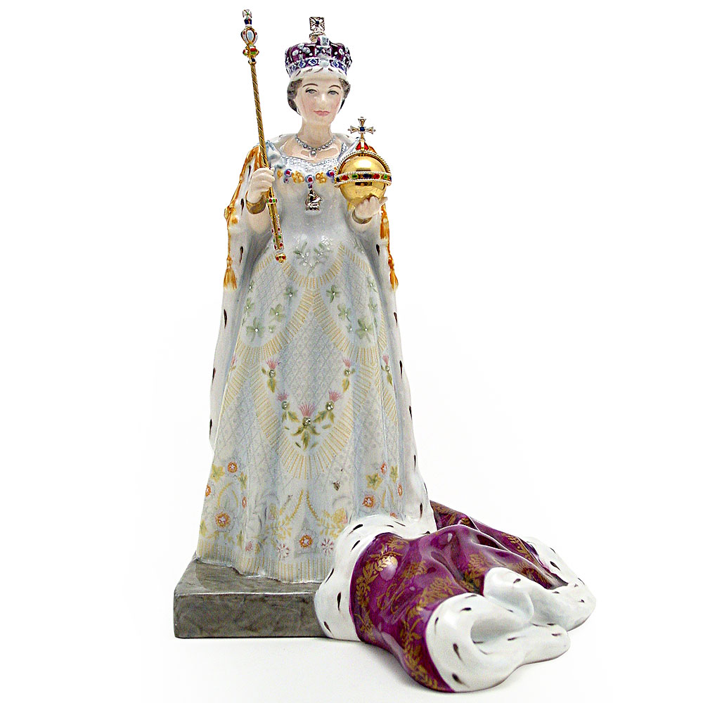 Queen Elizabeth II HN3436 - Royal Doulton Figurine
