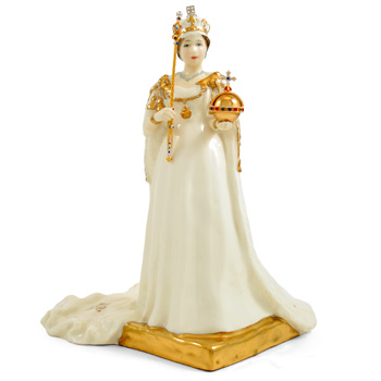 Queen Elizabeth II HN4372 - Royal Doulton Figurine