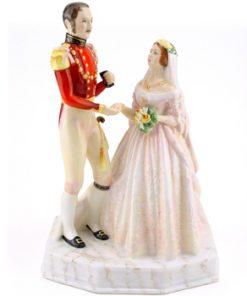 Queen Victoria & Prince Albert HN3256 - Royal Doulton Figurine