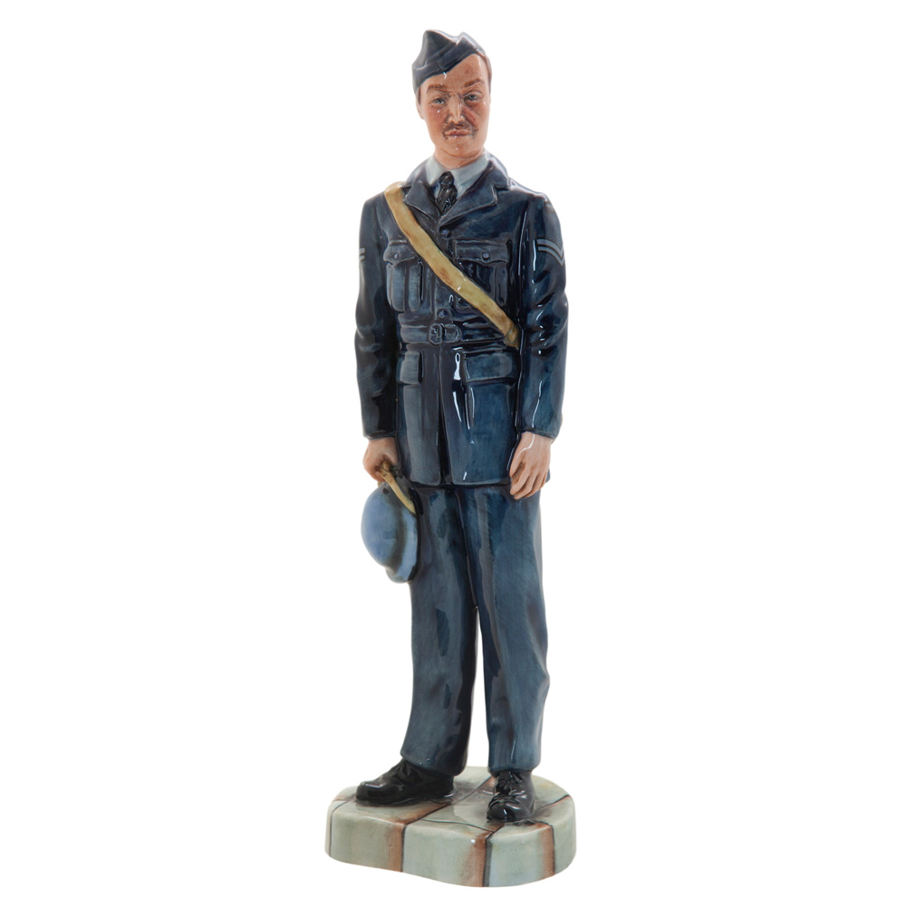 RAF Corporal (Royal Air Force) HN4967 - Prestige Series - Royal Doulton Figurine