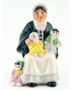 Rag Doll Seller HN5086 - Mini - Royal Doulton Figurine