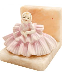 Rosebud - Bookend HN1580BK - Royal Doulton Figurine
