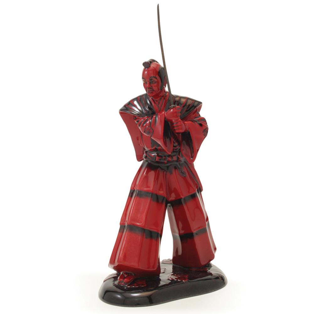 Samurai Warrior HN3402 (Flambe) - Royal Doulton Figurine