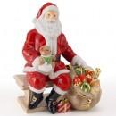 Santa 2003 - Royal Doulton Figurine