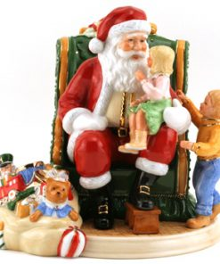 My Christmas Wish 2006 Santa HN4945 - Royal Doulton Figurine