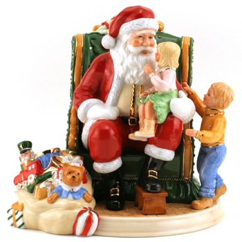 My Christmas Wish 2006 Santa HN4945 - Royal Doulton Figurine
