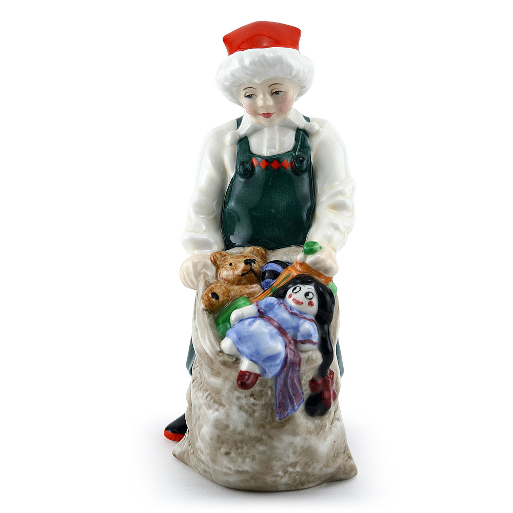 Santas Helper HN3301 - Royal Doulton Figurine