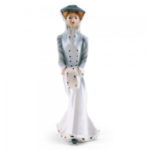 Sarah In Winter HN3005 - Royal Doulton Figurine