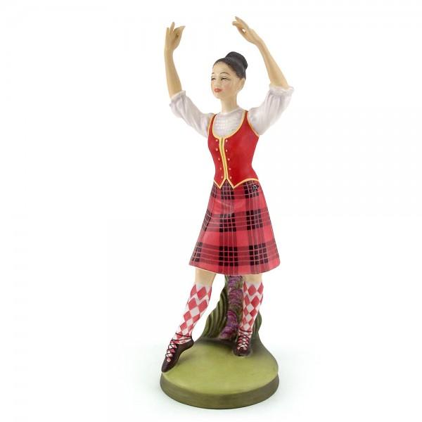 Scottish Highland Dancer HN2436 - Royal Doulton Figurine