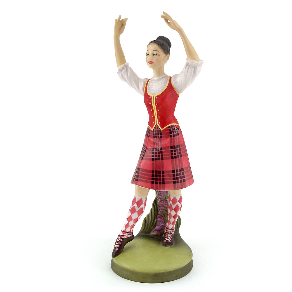 Scottish Highland Dancer HN2436 - Royal Doulton Figurine