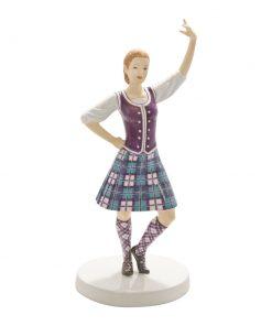 Scottish Highland Fling HN5572 - Royal Doulton Figurine