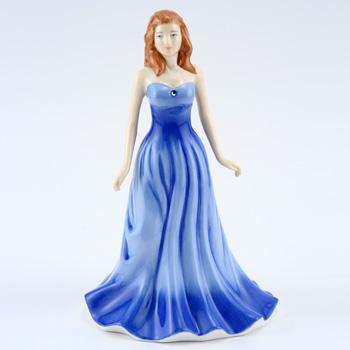 September HN4978 (Sapphire) - Royal Doulton Figurine