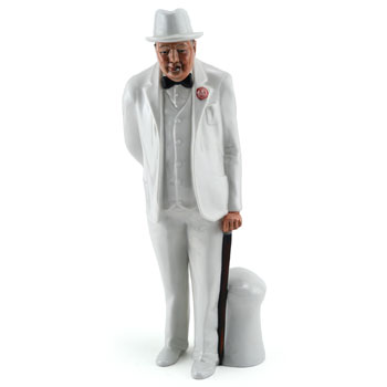 Sir Winston Churchill HN3057 - Royal Doulton Figurine