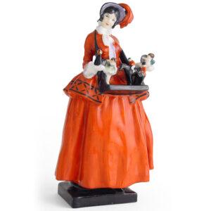 Sketch Girl Figurine - Royal Doulton Figurine