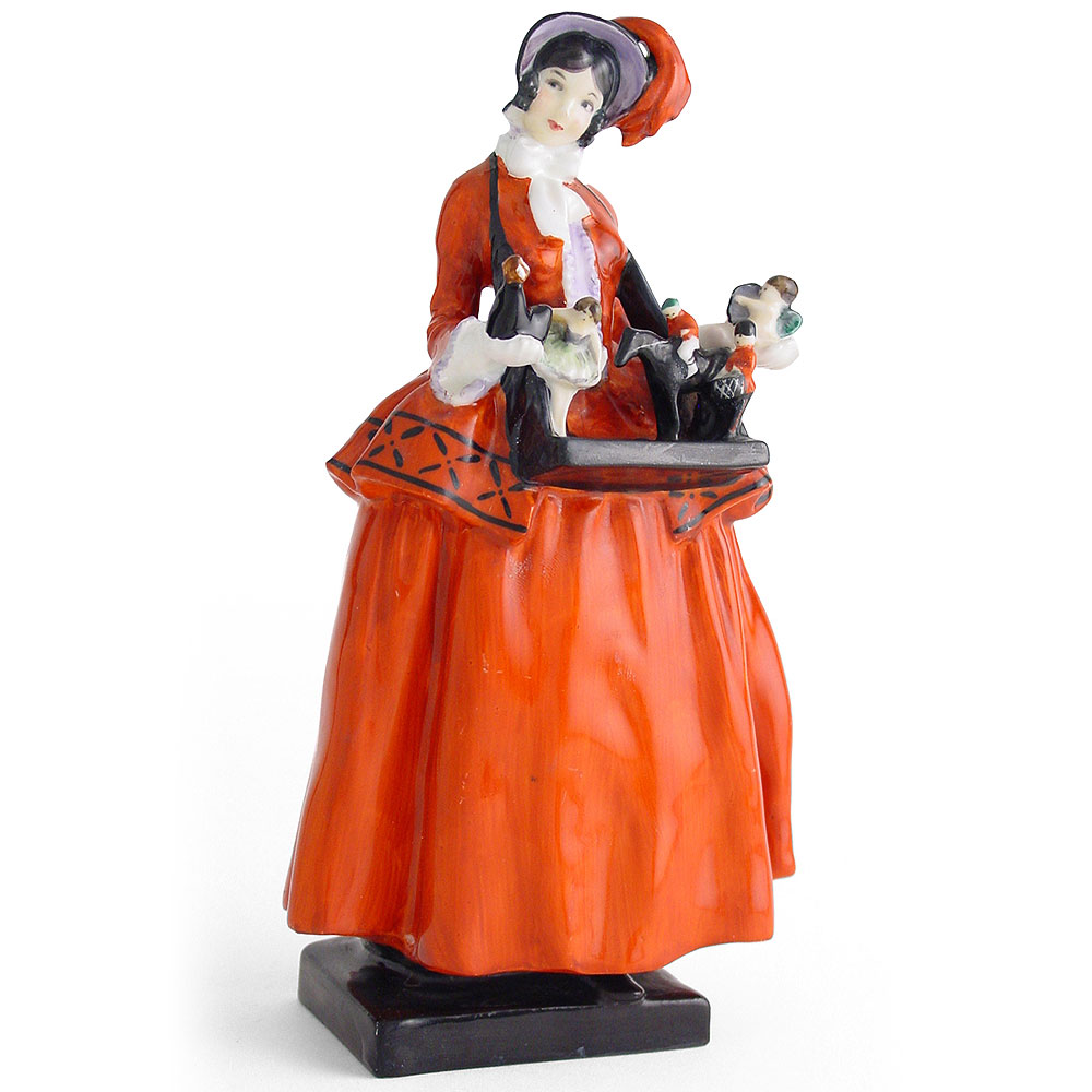 Sketch Girl Figurine - Royal Doulton Figurine