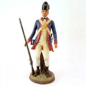 Private, 2nd South Carolina Regiment, 1781 HN2717 - Royal Doulton Figurine
