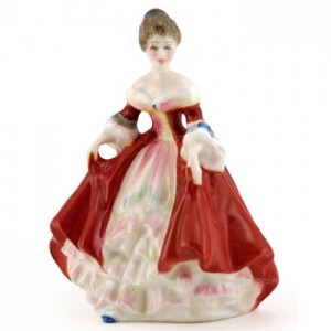 Southern Belle HN3174 - Mini - Royal Doulton Figurine
