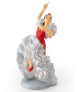 Spanish Flamenco Dancer HN2831 - Royal Doulton Figurine