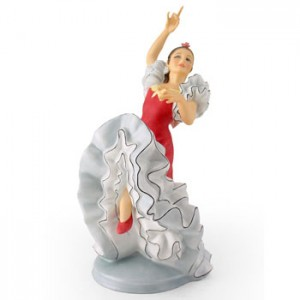 Spanish Flamenco Dancer HN2831 - Royal Doulton Figurine