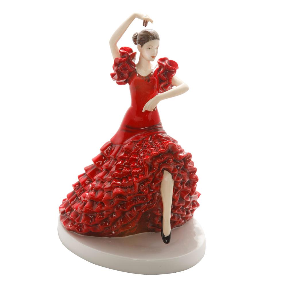 Spanish Flamenco HN5570 - Royal Doulton Figurine