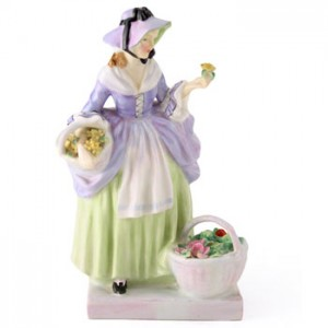 Spring Flowers HN1807 - Royal Doulton Figurine