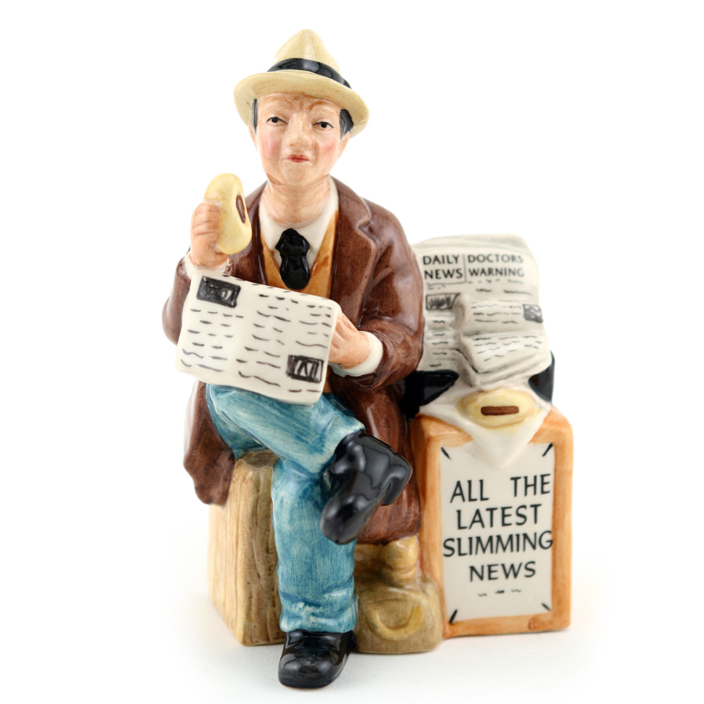 Stop The Press HN5088 - Mini - Royal Doulton Figurine