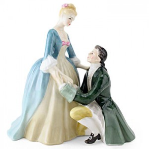 The Suitor HN2132 - Royal Doulton Figurine