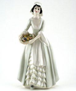 Sweet Violets HN3175 - Royal Doulton Figurine