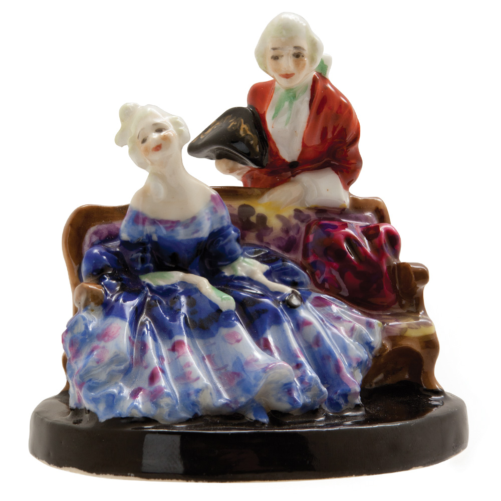 Tete a Tete HN1236 - Royal Doulton Figurine