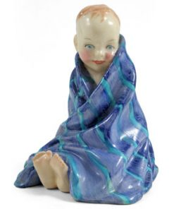 This Little Pig HN1794 (blue) - Royal Doulton Figurine
