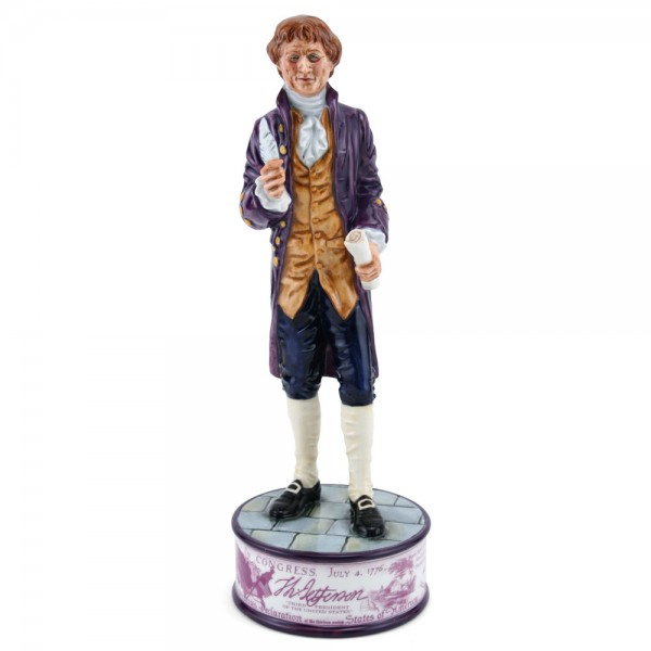 Thomas Jefferson HN5241 - Royal Doulton Figurine