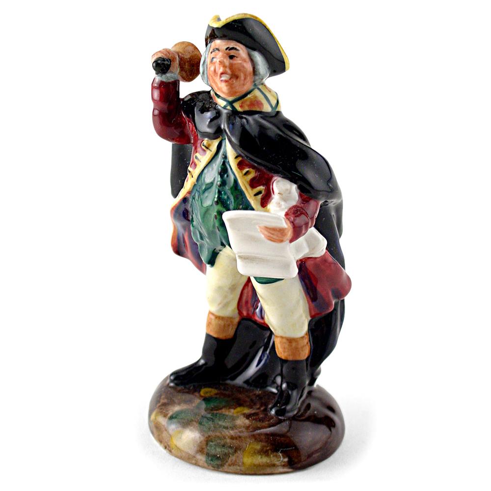 Town Crier HN3261 - Mini - Royal Doulton Figurine