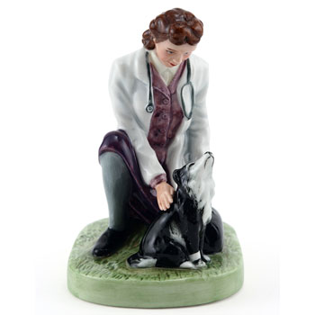Town Veterinary HN4651 - Royal Doulton Figurine
