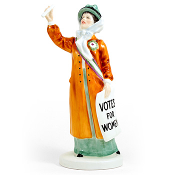 Votes for Women HN2816 - Royal Doulton Figurine