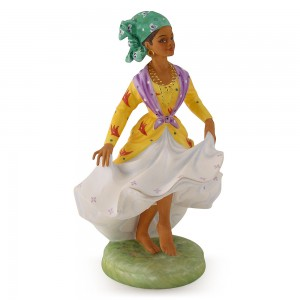 West Indian Dancer HN2384 - Royal Doulton Figurine