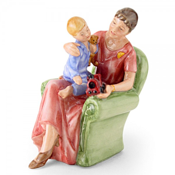 When I Was Young HN3457 - Royal Doulton Figurine