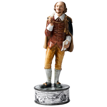 William Shakespeare HN5129 - Royal Doulton Figurine