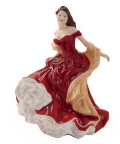 Winter Ball HN5466 - Royal Doulton Figurine - Seasons Series