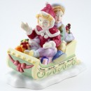 Winter Fun CH1 - Royal Doulton Figurine