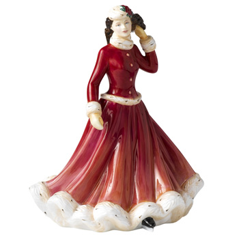 Winter Fun HN5258 - Royal Doulton Figurine