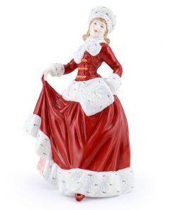 Winter's Eve HN4853 - Royal Doulton Figurine