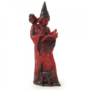 Wizard HN3121 (Flambe) - Royal Doulton Figurine