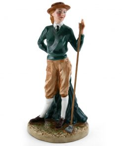 Womens Land Army HN4364 (Factory Sample) - Royal Doulton Figurine