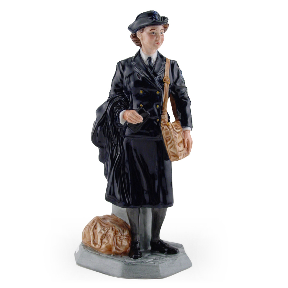 Women's Royal Naval Service HN4498 - Royal Doulton Figurine